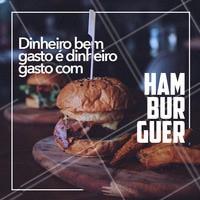 Quer gastar o seu dinheiro de maneira melhor? 😂Não tem como!   #hamburguer #ahazou #hamburgueria #veggie