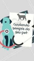 Essa é nossa proposta: cuidar sempre bem do seu bichinho, assim como você cuida! 🐶🐱 Que tal nos fazer uma visita? #pet #animal #ahazou #petshop #ahazoupet #cachorro petshop veterinario