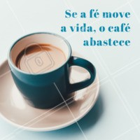 Venha tomar um café e abastecer as suas energias! #cafe #energia #ahazou