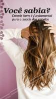 E aí, como você está dormindo? Quando dormimos pouco ou mal, o corpo começa a diminuir seu esforço para tarefas mais simples, como por exemplo crescimento dos fios. #cabelo #ahazou #ahazoucabelo #cabeleireiro #sono #saude
