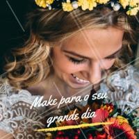 Você merece ficar ainda mais linda para o seu Grande Dia, não acha? 👰 Nos chame inbox e agende um horário com a gente. #noivas #grandedia #ahazou #beleza