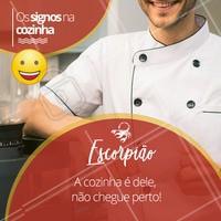 Hahaha quem concorda marca o seu escorpiano(a) favorito aqui! ♏ #signos #cook #ahazou #astrologia #escorpiao