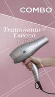Aproveite esse combo e vem ficar DIVA com nosso tratamento capilar + escova 😘 #tratamento #cabelo #ahazou #cabeleireiro #escova