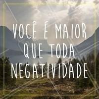 Somos maiores. Somos positividade! ✨ #frases #motivacao #ahazou #positividade