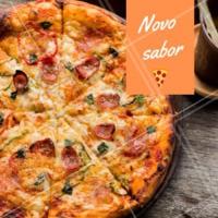 Temos novo sabor de pizza, venha conferir! #pizza #ahazou #novosabor #pizzaria