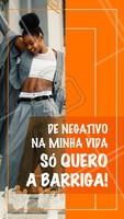 Xô negatividade! 🙏 #motivacional #esteticacorporal #ahazou #engraçado