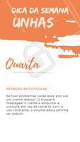 Dica do dia! Vamos aplicar pra deixar as unhas sempre lindas e bem cuidadas! 💅💜 #dica #unhas #ahazou #esmalte