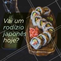 E aí, qual a sua pedida de hoje? #rodizio #japones #ahazou #comidajaponesa