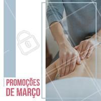 Aproveite para relaxar neste mês de Março recheado de promoções! #massoterapia #massagem #ahazou #promocao #bemestar