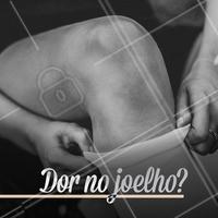 Está sentindo dor, incômodo, ou fraqueza nos joelhos? É necessário procurar um fisioterapeuta para avaliar o quadro. Entre as patologias que podem causar esses sintomas destacam-se: artrite, tendinite, Síndrome da Banda Iliotibial, os traumas ou contusões, entorses, sedentarismo. #fisioterapia #ahazou #joelho
