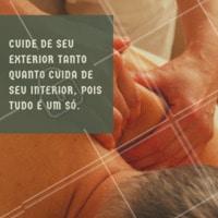 Cuide-se! ✨❤️️ #massagem #ahazou #frases #massoterapia