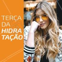 Aproveite nossos precinhos especiais de terça-feira e venha fazer sua hidratação 💇 #terça #ahazoucabelo #hidratação #cabelo