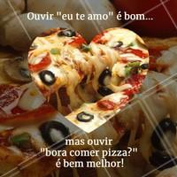 Dica pro(a) crush! 😉 #Pizza #ahazou #Pizzaria