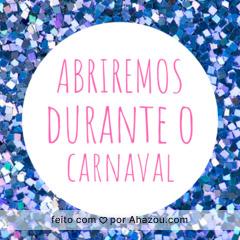 Pode chegar que vamos estar por aqui no carnaval. #carnaval #ahazou #abriremos