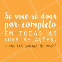 Reflita! ✨ #motivacao #inspiracao #ahazouapp #frases