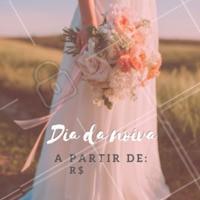 O seu dia da noiva não poderia ser em outro lugar, não é mesmo?😍 #diadanoiva #ahazou #beleza