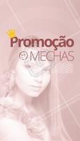 Que tal aproveitar essa promoção incrível? Corre e aproveita pra agendar seu horário! #cabelo #promoçao #mechas #ahazou #cabeleireiro #ahazoucabelo