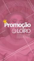 Que tal aproveitar essa promoção incrível? Corre e aproveita pra agendar seu horário! #loiro #ahazoucabelo #ahazou #promoçao #cabeleireiro