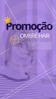 Que tal aproveitar essa promoção incrível? Corre e aproveita pra agendar seu horário! #promoçao #ahazou #ahazoucabelo #cabeleireiro #cabelo #ombrehair