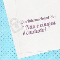 😏 Acredite, só estamos CUIDANDO do que é nosso! #diadamulher #ahazou #meme #engraçado