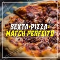 Quer match mais lindo e gostoso que esse? Corre pra pizzaria! #ahazou #pizzaria