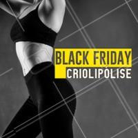 Criolipólise, o tratamento queridinho para eliminar gorduras em PROMOÇÃO! 🤑 Aproveite essa Black Friday e agende seu horário. #esteticacorporal #ahazouestetica #criolipolise
