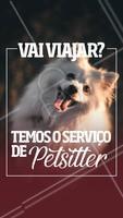 Não sabe com quem deixar seu pet? Temos especialistas para cuidar deles com MUITO amor! 🐶🐱❤️️ Entre em contato para maiores informações XXXXXX #pet #petsitter #nanny #ahazoupet #ferias