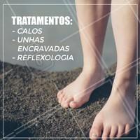 Venha conhecer nossos tratamentos e cuidar dos seus pés! #podologia #ahazou #cuidadoscomospes