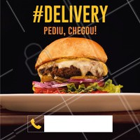 Peça já seu hambúrguer favorito pelo nosso Delivery! #delivery #ahazoutaste #hamburguer