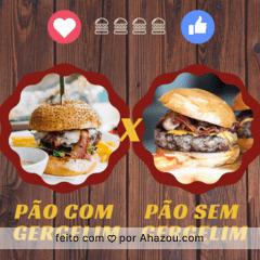 Queremos saber qual o seu preferido. Conta pra gente! #burger #food #ahazouapp #hamburguer #ahazou
