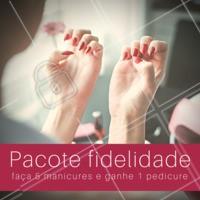 Aproveite o nosso pacote especial de manicure! #manicure #pacote #ahazou #ahazoubeleza #promocao