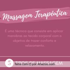 Confira a dica do dia e agende já um horário! 💆 #massagem #ahazou #dicas
