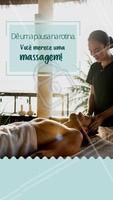 Troque a agitação da sua rotina por um momento de paz e relaxamento. #massagem #ahazou #massoterapia