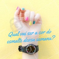 Escolha a sua e agende seu horário! #unhas #nails #ahazou #manicure #pedicure