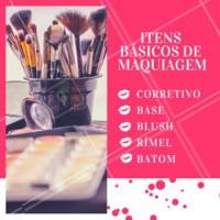 Não deixe nenhum desses produtos fora da bolsa, você pode precisar a qualquer momento! #maquiagem #ahazoumaquiagem #dicas