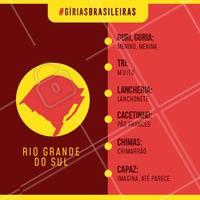 E aí, você conhecia todas essas gírias? Comenta aqui! 👇 #giriasbrasileiras #ahazougirias #riograndedosul #girias