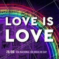 O que importa é o AMOR! #love #ahazou #lgbtqi+