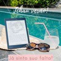 Tchau verão, você nem foi mas já sinto sua falta! 😥 #verao #tchauverao #ahazou #fimdoverao
