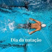 Hoje é dia da natação! 💙 A natação é um dos esportes mais recomendados e completos. Uma das vantagens de frequentar aulas de natação é que essa é uma modalidade sem impacto, o que não coloca em risco ossos e articulações, além de poder ser feita por praticamente todas as pessoas, desde bebês, grávidas até idosos. Quem pratica esse esporte aí e ama? #nataçao #ahazou #diadanatacao #esporte #saude #bemestar #8deabril #abril