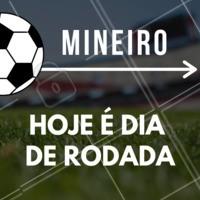 Chama os amigos e vem assistir a rodada do Campeonato Mineiro conosco! #mineiro #ahazou #ahazouapp #futebol #amigos #torcida