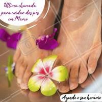 Ainda dá tempo de agendar o seu horário para o mês de Março! Vem cuidar dos pés! 👣 #marco #agenda #ahazou #podologia #pes