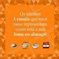 Comenta aqui embaixo os resultados!  😂🍲 #almoco #refeicoes #ahazoutaste #enquete #engracado