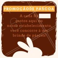Uma promoção que enche nossos corações de alegria nessa Páscoa 🐰 Aproveite e participe!  #food #ahazoutaste #delicia #pascoa #promocao