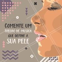 E aí? Qual é a música? 😄🎵 Conta pra gente! #esteticafacial #pele #ahazou #enquete #musica