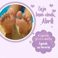 Bora cuidar da saúde dos pés? 😍 Entre em contato e garanta o seu horário!  #podologia #pes #ahazou #agenda #abril