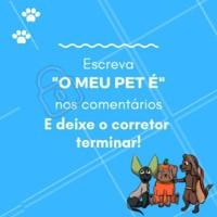 Vamos brincar? 🤣 Coloca aqui nos comentários seu resultado!   #pet #petlovers #ahazoupet #fofura