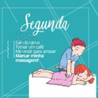 Bora acordar e agendar o seu horário? 😄 #massagem #massoterapia #ahazou #motivacional #bomdia