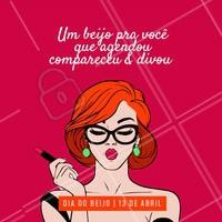 Feliz dia do beijo pras minhas clientes queridas!! 💕 #beleza #ahazou #diadobeijo #beijo #salaodebeleza