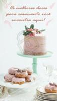 Vai casar e está em busca dos melhores doces para sua festa? Acabou de achar! Venha fazer um orçamento com a gente! Ligue: XX XXXX – XXXX  #doces #casamento #ahazou #noivos