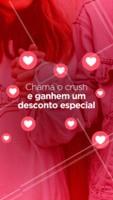 É só trazer o/a crush e aproveitar essa promoção exclusiva! 😍 #crush #promocao #ahazoutaste #food